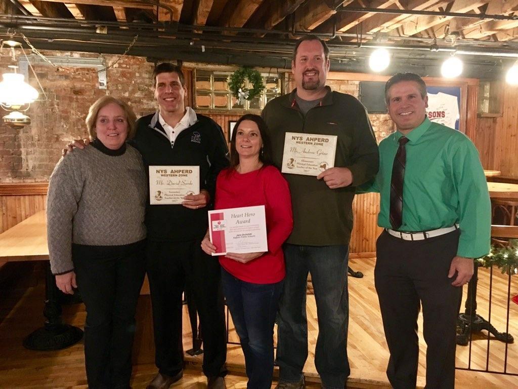 Western Zone 2017 Award recipients 2